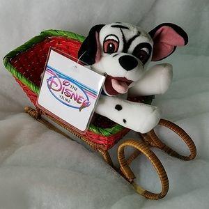 Vintage 101 Dalmations Disney Beanie Plush Toy. NW